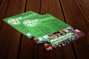 AberMac flyer Design for Print Howard Adair