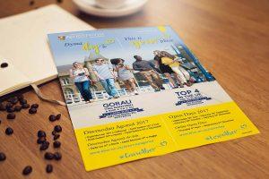 BIlingual flyer Design for Print Howard Adair