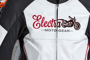 Electra Moto-Gear logo branding Howard Adair
