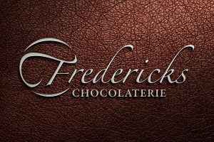 Fredericks Chocolaterie logo branding Howard Adair