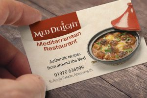 Med Delight logo branding Howard Adair