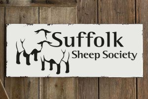 Suffolk Sheep Society logo branding Howard Adair