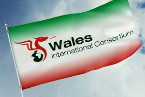 Wales International Consortium logo branding Howard Adair